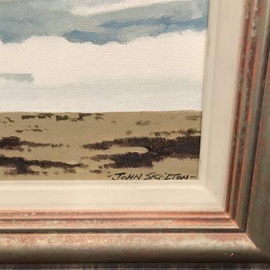 John Skelton Blasket Island Wave Oil On Canvas (1923-2009)