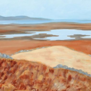 Vicki Crowley Lough Inch Oil on Canves