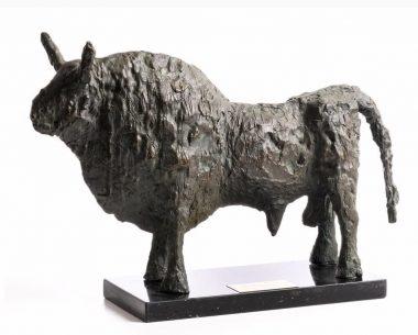 JOHN BEHAN RHA (B.1938) TITLE:BronzeBull (1974)