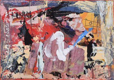 UNTITLED ARTIST: John Kingerlee SIZE: H 5 x W 7 MEDIUM: Mixed Media SIGNATURE: Signed in Monogram FRAMED: Yes (1)