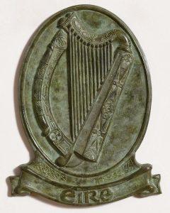 20TH CENTURY IRISH SCHOOLTITLE:Irish Harp - EireMEDIUM:bronzeSIZE:53 x 40½ x 4cm (21 x 16 x 2in)