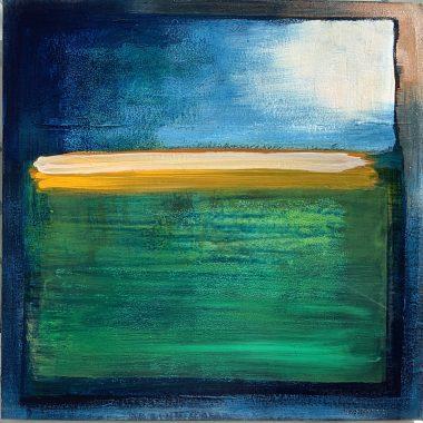 Tom Byrne Gazing to Heaven Dublin bay